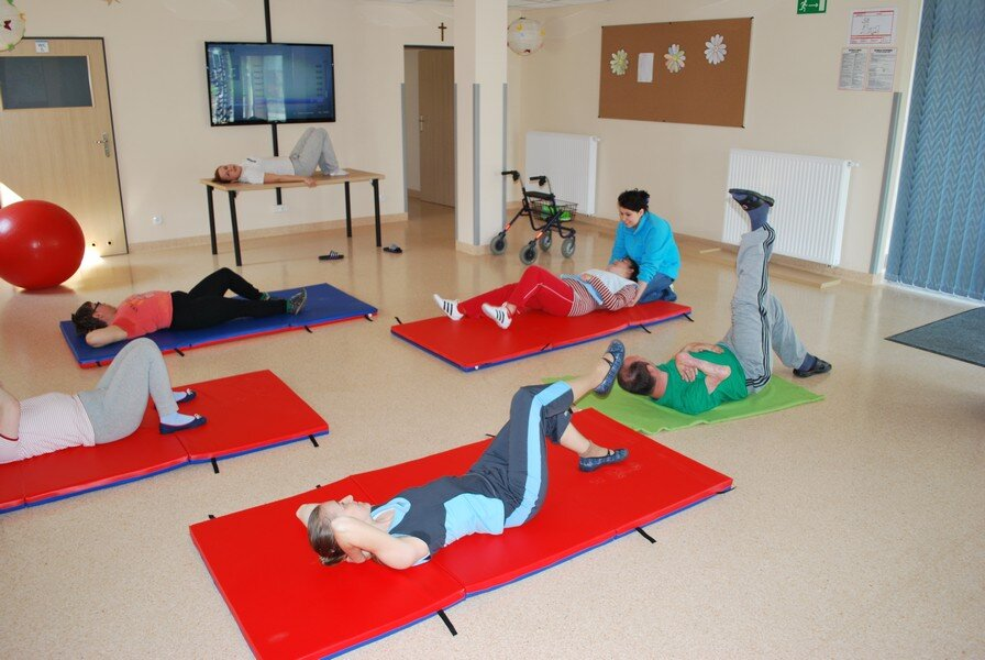 ćwiczenia na materacach